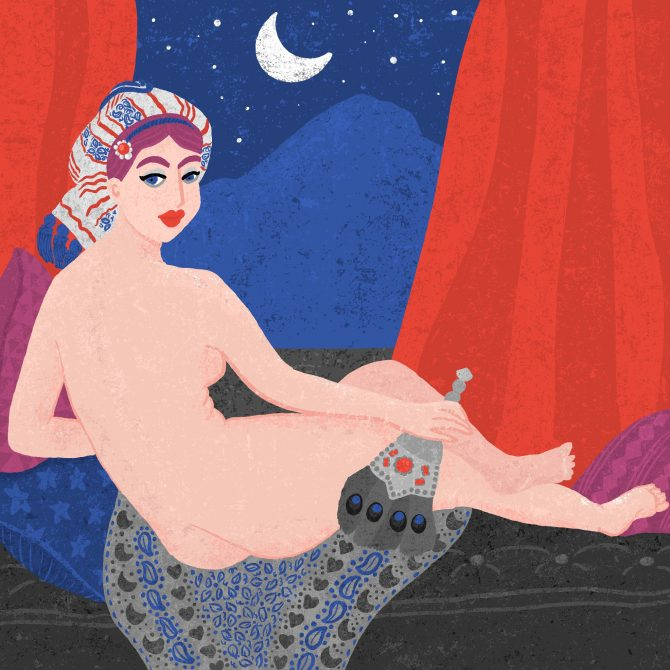 Magic Moon, the Odalisque